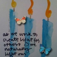 ATC Inspiration October 2012 -- Light The Way
