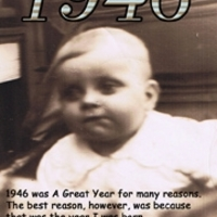 The Year I Was Born -- 1946