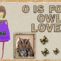 O Is For Owl Lover