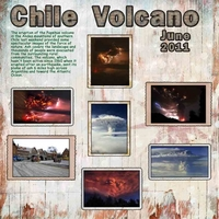 Saturday Color Challenge -- Chile Volcano