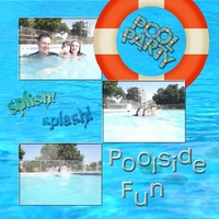 Page Two Swap for Jenna -- Poolside Fun