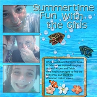 Page One Swap for Jenna -- Underwater Fun