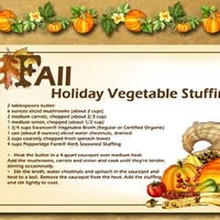 Holiday Vegetable Stuffing Recipe