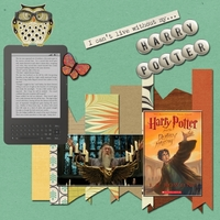 Harry Potter Book Collection -- Thursday 8-28-14 Blog Challenge