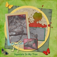 Friday 11-15-13 Scraplift -- Squirrel In My Tree