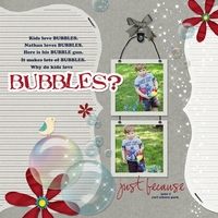 why do kids like bubbles?