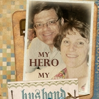 my hero my husband - June ATC