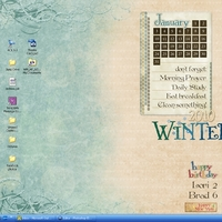 January Desktop - Resolutions