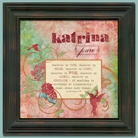 Scripture Name Wall Art