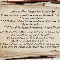 Slower Cooker Chicken