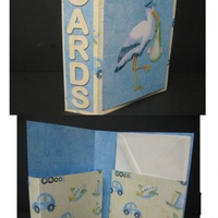 Baby Boy Gift Card Box Set