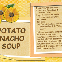 Potato Nacho Soup