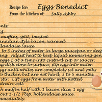 April Recipe Swap - Eggs