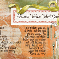 Almond Chicken Velvet Soup