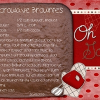Mischief Week Microwave Brownie