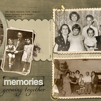 Making Memories -- Full Spread