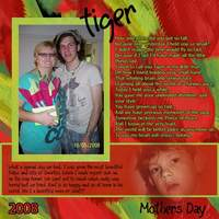MOTHERS DAY - TIGER