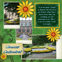 Chester Cathedral Garden