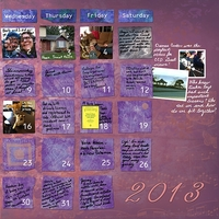 Project Life Jan 2013 right
