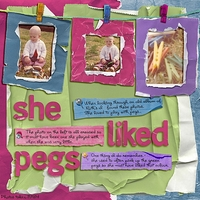 Friday 25th Customer Challenge - She Liked Pegs