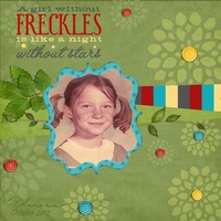 Freckles - Color Challenge and Chat