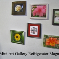 Mini Art Gallery Fridge Magnets