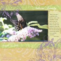 Natural Beauty - Freebie Challenge 11-19-13