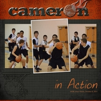 Cameron In Action