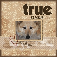 Turs. Freebie 2/1-   Every True Friend