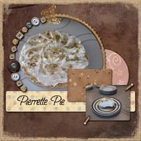 Saturday Color Challenge 3/19- Pierrette Pie
