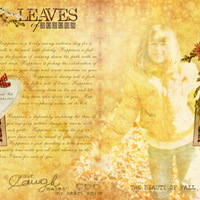 Leaves of Autumn (Double spread)