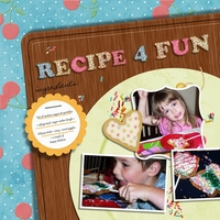 Recipe For Fun. July Scrap Simple Club.
