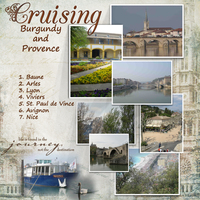 Cruising Burgundy and Provence