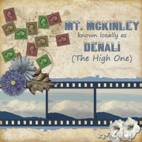 Tues. June 11 - Freebie  - Denali