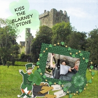 Tues Mar. 17 - Kissing the Blarney Stone