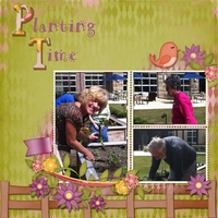 Tuesday Freebie Challenge - Planting Time at Solana