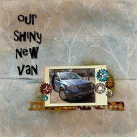 Thurs. Feb 9 - Our New Car