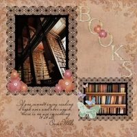 Books!! (Monday Oct 22nd 2012 layout)
