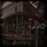 life thru rose colored glasses