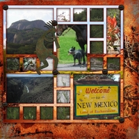 new mexico window pane