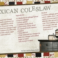 Recipe Swap - Mexican Coleslaw