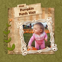SCRAPLIFT - First Pumpkin Patch Visit