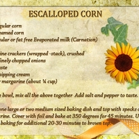 Escalloped Corn
