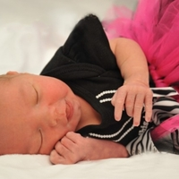 My New Grand Baby's First Professional Photo!!