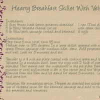 Hearty Breakfast Skillet with Velveeta