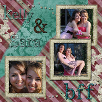 Kelly and Sara - BFF