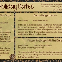 Holiday Dates for November Swap