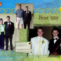 Prom for Sean, 2005