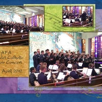 USAFA Cadet Catholic Choir Concert, p.1 of 2