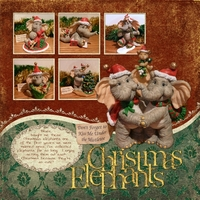 Task #8 - Christmas Elephants
